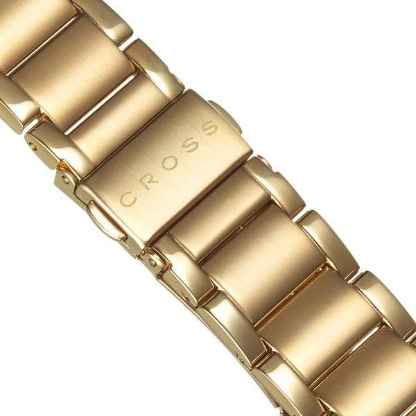 Pánské hodinky Cross Franklin Medium Gold, 39.5 mm