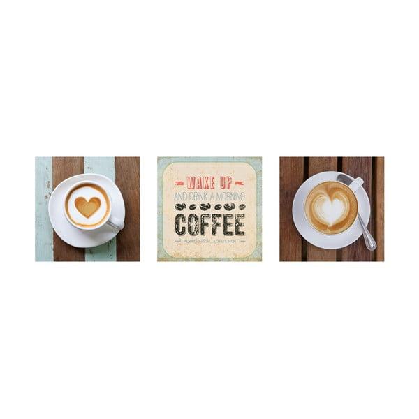 Samolepící obrazy Vintage Café, 30x30 cm