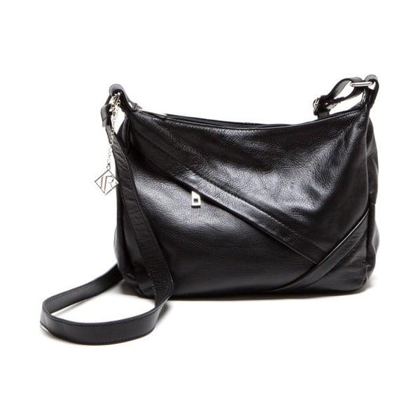 Kožená kabelka Isabella Rhea 2133 Nero