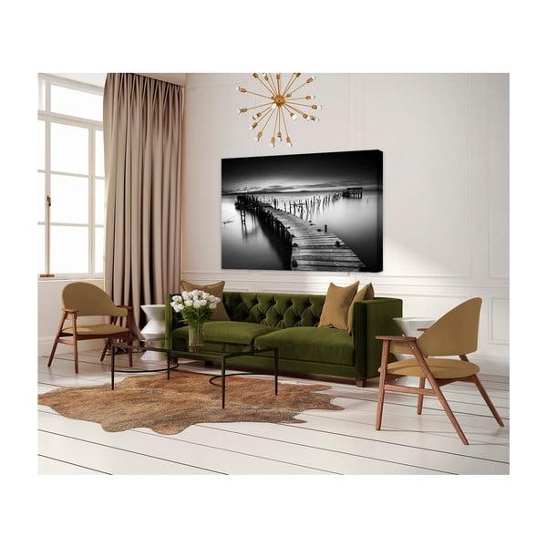 Tablou imprimat pe pânză Styler Pier, 100 x 75 cm