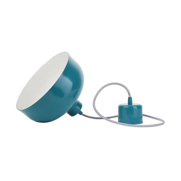 Tyrkysové stropní světlo Loft You B&B, 22 cm