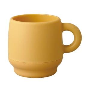 Dvojitý hrnek Juke, žlutý
