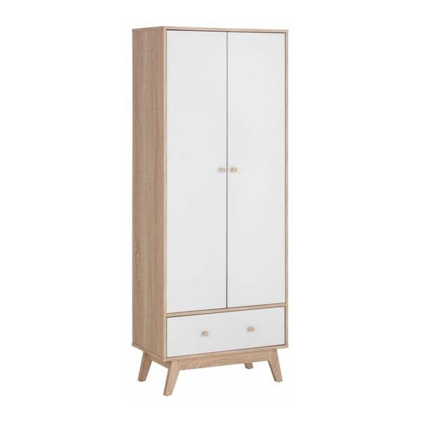Bílá šatní skříň Støraa Amy