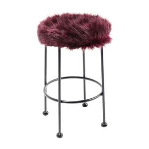 Červená stolička Kare Design Ontario