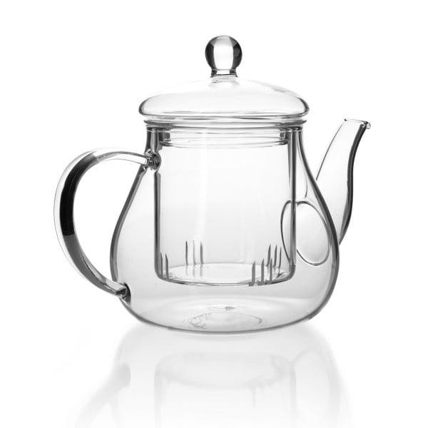 Ceainic din sticlă cu infuzor Bambum