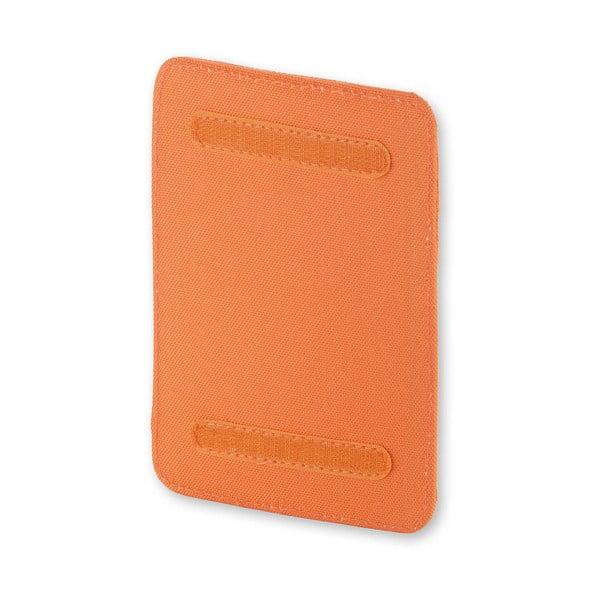 Univerzální kapsička se suchým zipem Moleskine 15x10 cm, oranžová
