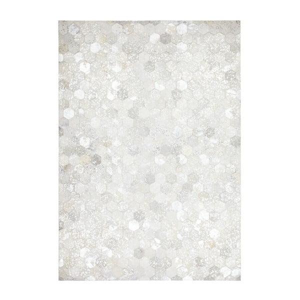 Koberec z pravé kůže Dazzle 400 Light, 120x170 cm