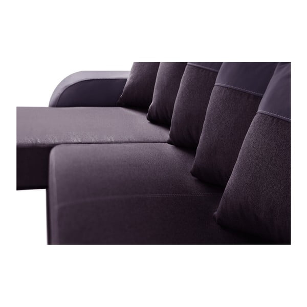 Canapea cu șezlong partea stângă Interieur De Famille Paris Destin, mov