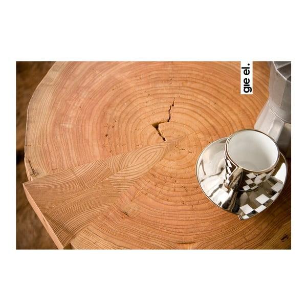Odkládací stolek Coffee, fialový
