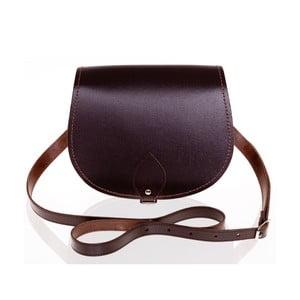 Kožená kabelka Saddle 29 cm, hnědá