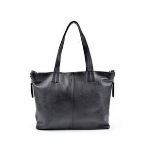 Černá kožená kabelka Roberta M Stranger