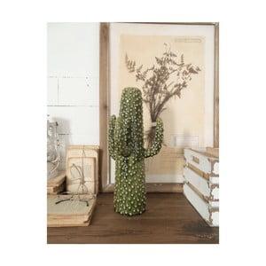 Zelená keramická soška Orchidea Milano Cactus Summer In Italy, výška41cm