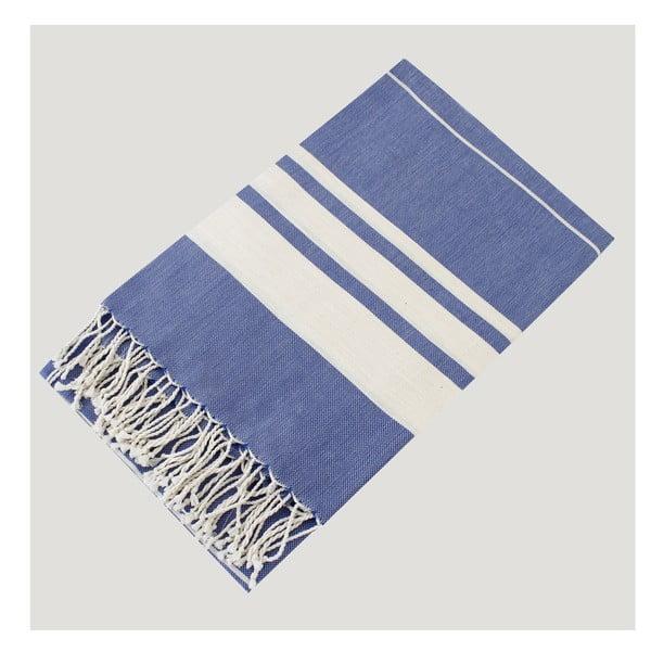 Hammam osuška Bath Style Blue, 100x180 cm