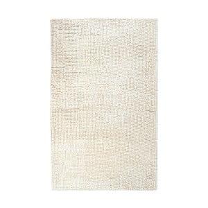 Béžová ručně tkaná koupelnová předložka Lucid, 60x100 cm