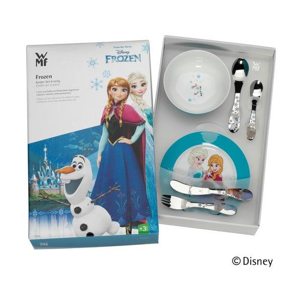 Set tacâmuri și veselă pentru copii WMF Frozen, 6 piese