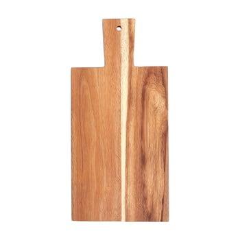 Tocător din lemn de salcâm Premier Housewares, 42 x 20 cm imagine