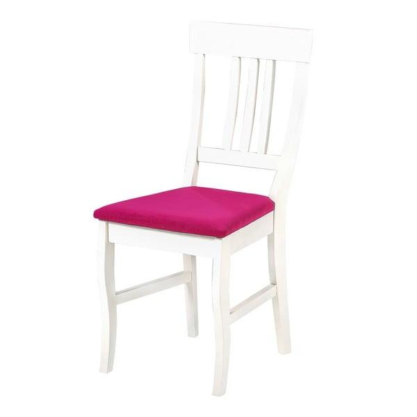 Jídelní židle Supreme, růžový podsedák