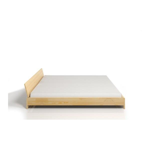 Pat dublu din lemn de pin SKANDICA Vestre, 180 x 200 cm