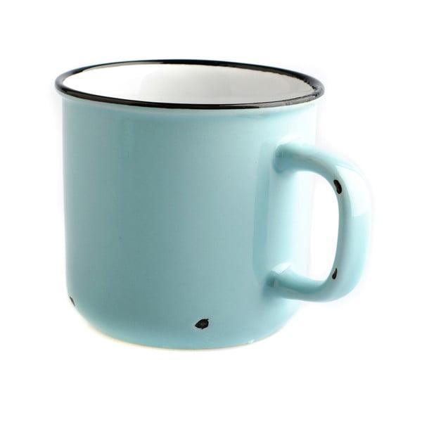 Světle modrý keramický hrnek Dakls, 440ml