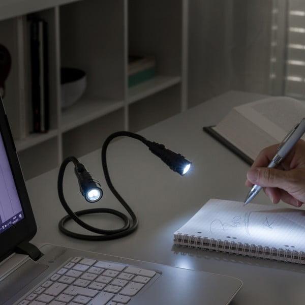 Ohebná magnetická LED svítilna InnovaGoods Double-Flexible Torch