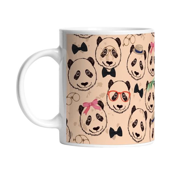 Keramický hrnek Panda Crew, 330 ml