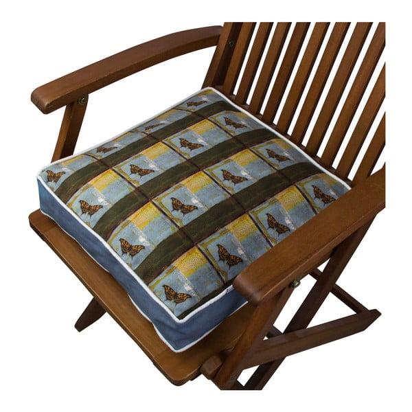 Pernă pentru scaun Gravel Turro, 42x42cm,cuumplutură