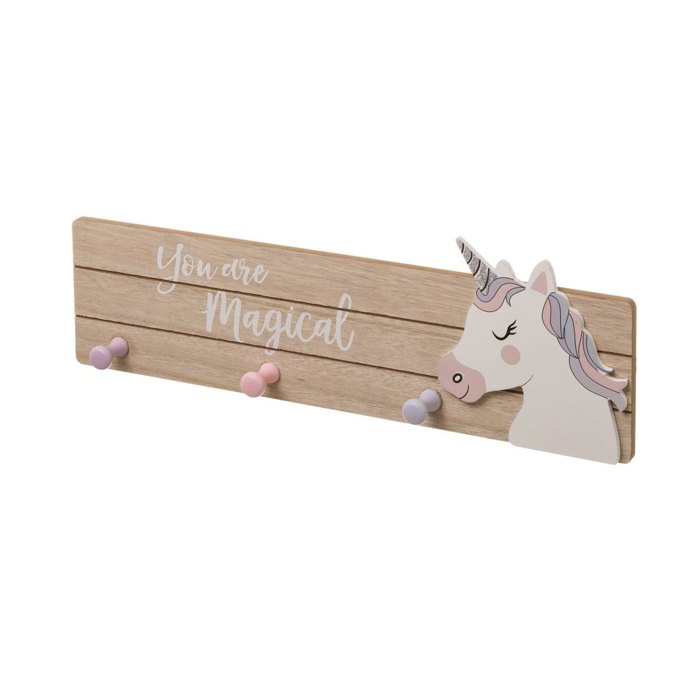 Věšák se 3 háčky Unimasa Unicorn, délka45cm