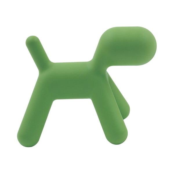 Zelená stolička Magis Puppy, délka70 cm