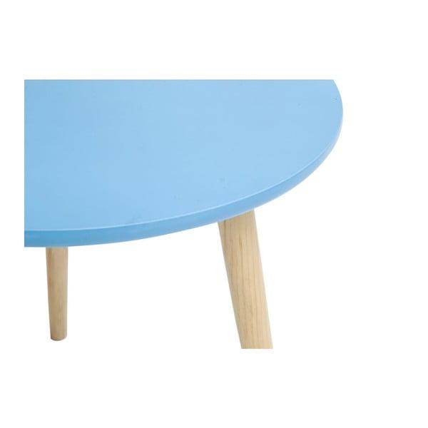 Stolek Mauro Ferretti Da Caffe Blue, 40x45x45 cm
