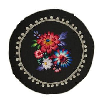 Pernă reversibilă Madre Selva Colorful Flowers, ⌀ 45 cm imagine