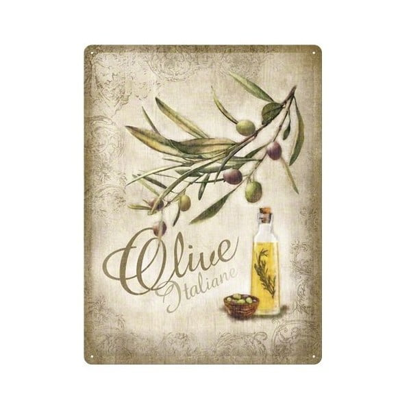 Cedule Olive, 30x40 cm