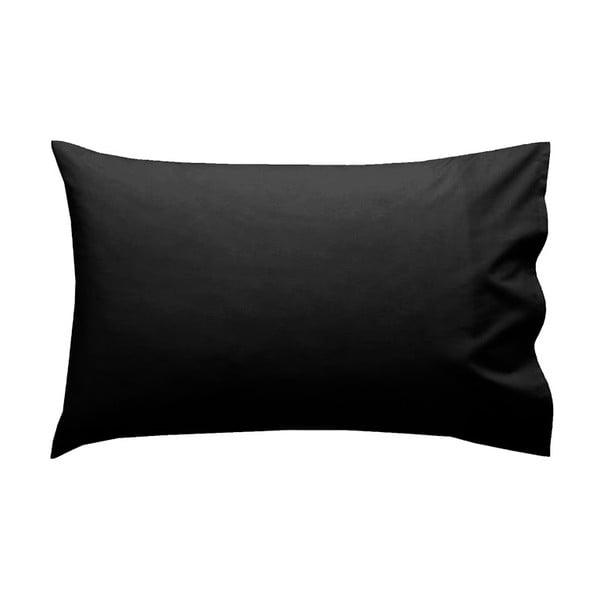 Povlak na polštář Let's Home Black 50x80 cm