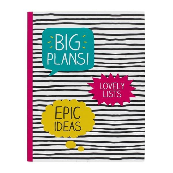 Caiet mare Big Plans