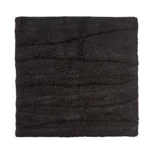 Černá koupelnová předložka Zone Flow, 65x65cm