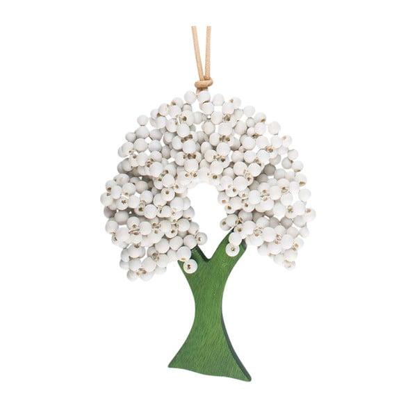 Náhrdelník Tree White