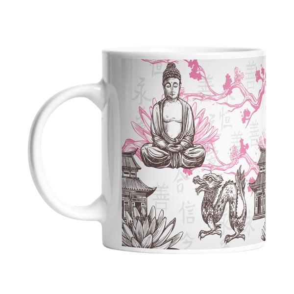 Keramický hrnek Butter Kings Buddha, 330 ml