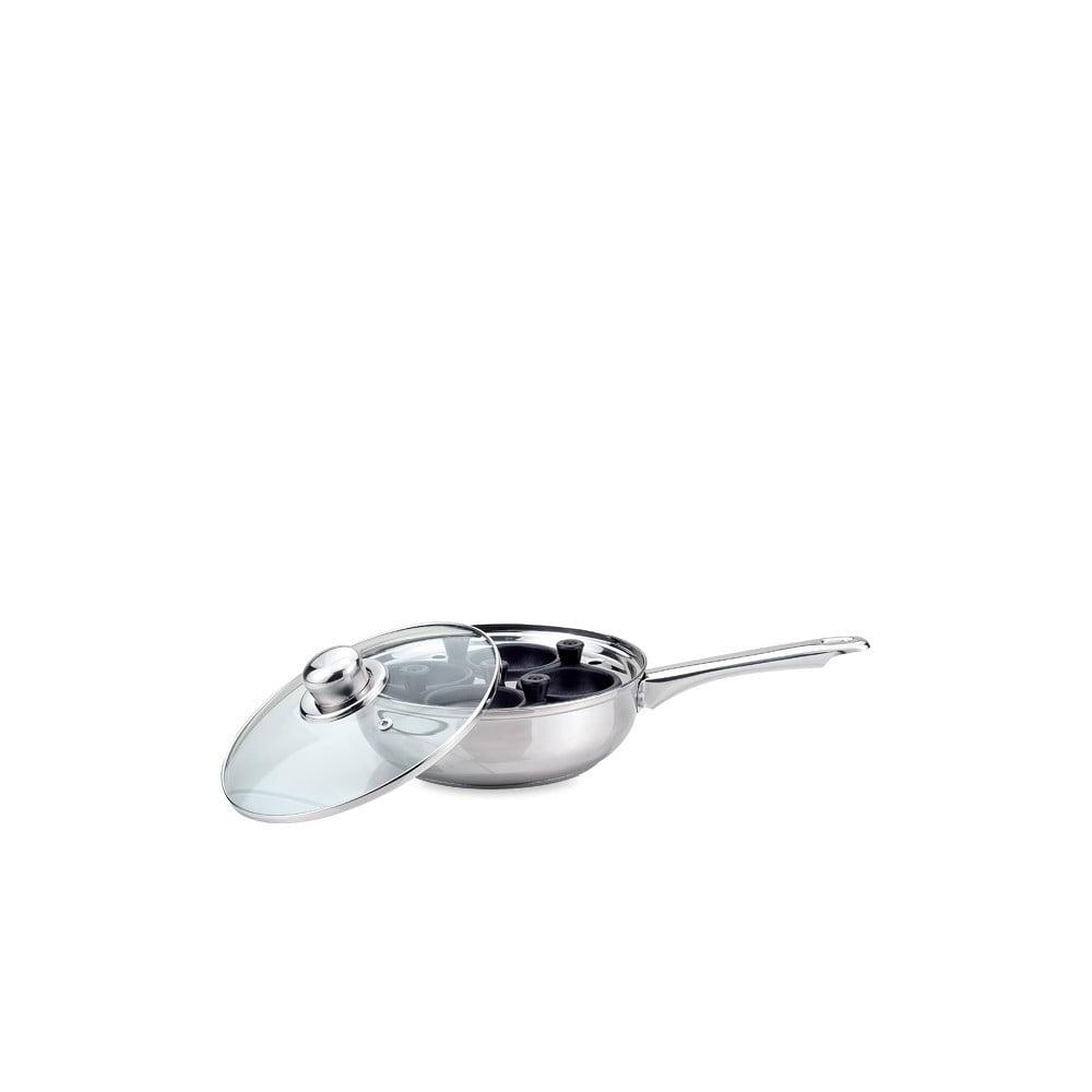 Pánev na indukci na zastřená vejce s pokličkou Sabichi Essentials,⌀20cm