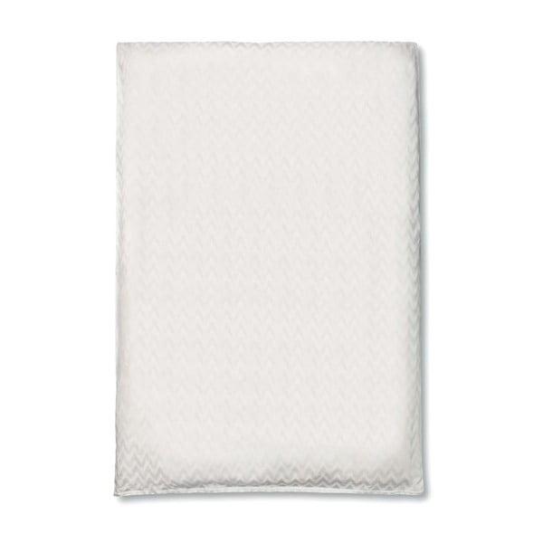 Bílý povlak na peřinu Damas Casa Di Bassi Rytmo, 200x200cm