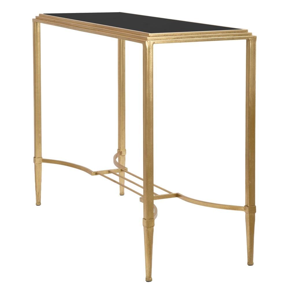 Konzolový stolek ve zlaté barvě MauroFerretti Roman, 120x80cm