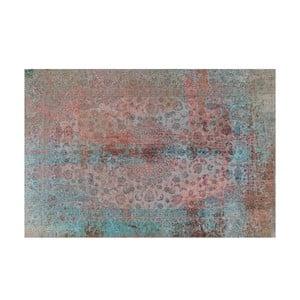 Vinylový koberec Oriental Grunge Turquesa, 100x150 cm