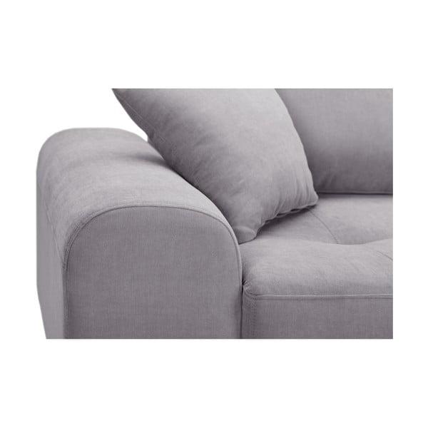 Canapea cu 3 locuri Corinne Cobson Dillinger, gri deschis