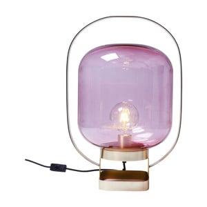 Růžová stolní lampa Kare Design Jupiter