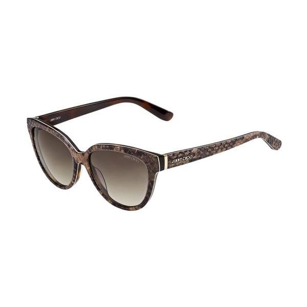 Sluneční brýle Jimmy Choo Odette Python/Brown
