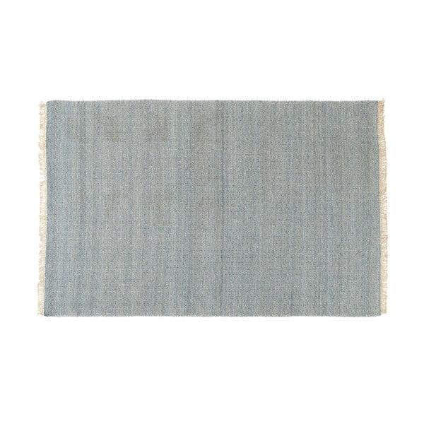 Vlněný koberec Kyla Denim, 80x250 cm