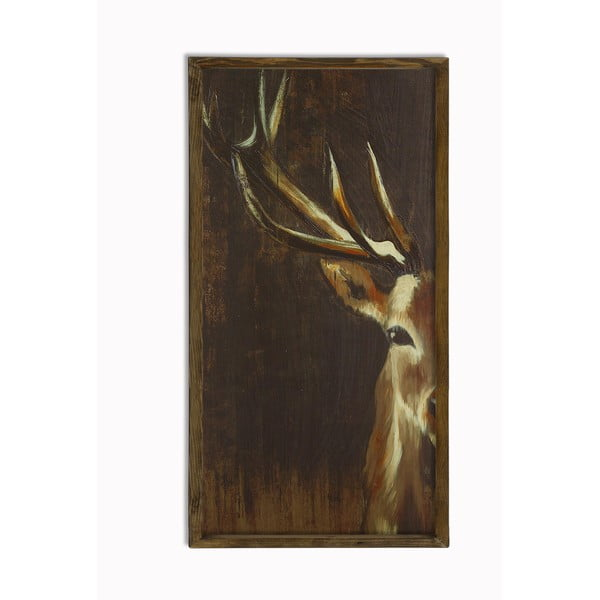 Deer fali kép, 25 x 50 cm