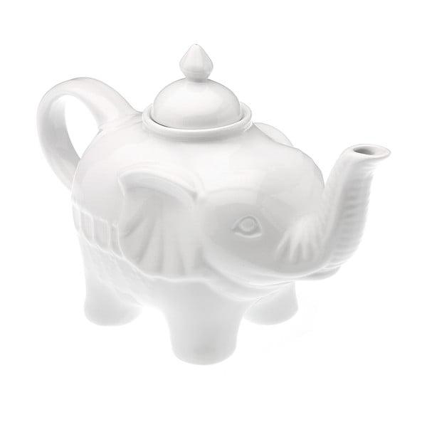 Bílá konvice Versa Elefante