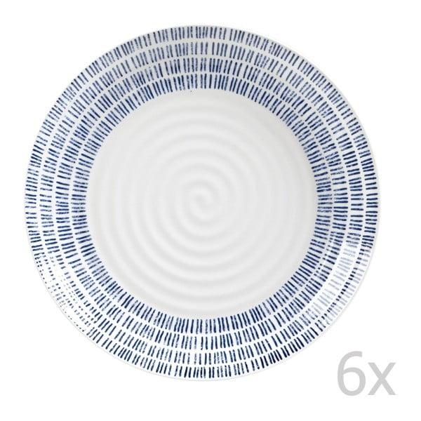 Sada 6 ks talířů Dashie, 22,5 cm