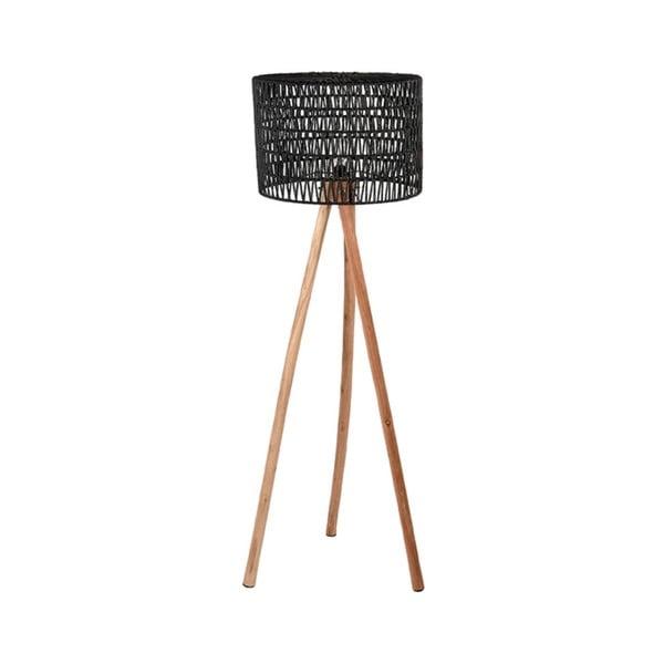 Černá lampa zmangového dřeva LABEL51 Stripe