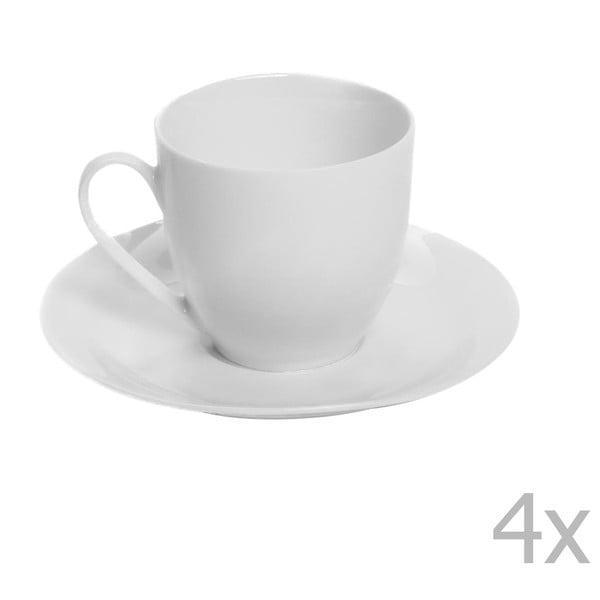 Sada 2 porcelánových šálků s podšálky Sola Lunasol, 200ml