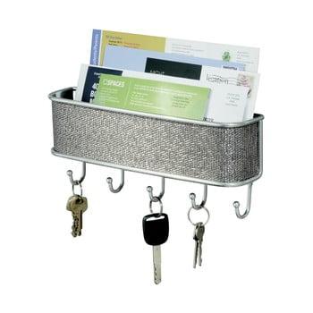 Cuier de perete pentru chei și scrisori iDesign Twillo imagine